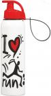 Бутылка спортивная Herevin Run 750мл с петлей для переноса