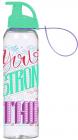 Бутылка спортивная Herevin Stronger 750мл с петлей для переноса