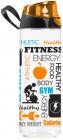 Бутылка спортивная Herevin Gym 750мл с петлей для переноса