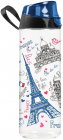 Бутылка спортивная Herevin Paris 750мл с петлей для переноса