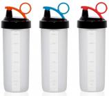 Пляшка спортивна Herevin Shaker 650мл з мірною шкалою