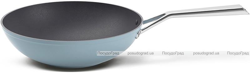 Сковорода-вок TVS Luna Induction Ø28см с антипригарным покрытием
