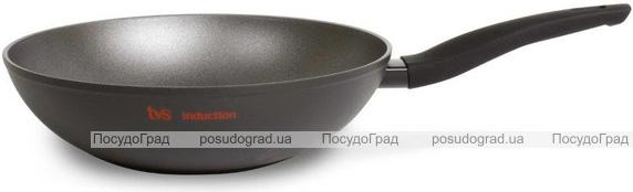 Сковорода-вок TVS Preziosa Induction Ø28см с антипригарным покрытием