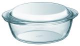 Кастрюля для запекания Pyrex Essentials Ø20см (1.6л) с крышкой, жаропрочное стекло