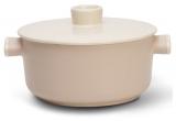 Кастрюля TVS Tea 3.2л с антипригарным покрытием, керамическая крышка