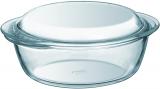 Кастрюля для запекания Pyrex Essentials Ø23см (2.2л) с крышкой, жаропрочное стекло