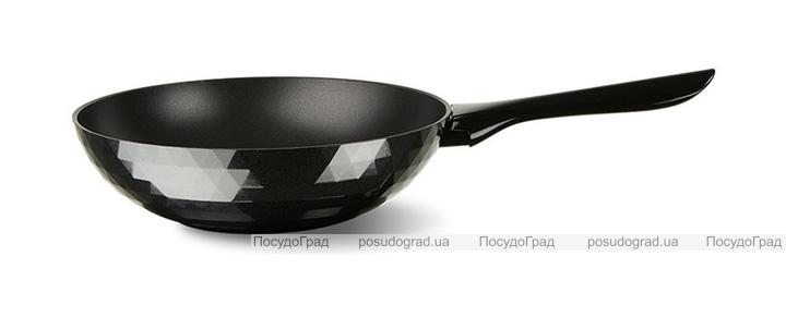 Сковорода-вок TVS Deco Ø20см эмалированный алюминий с антипригарным покрытием