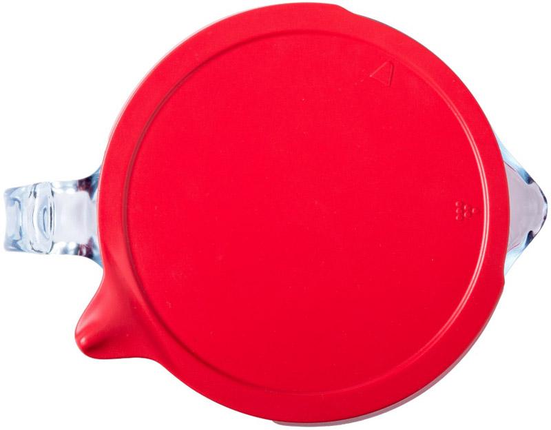 Мерная кружка Pyrex Classic с крышкой 1000мл стеклянная