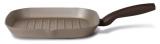 Сковорода-гриль TVS Gustosa 28х28см с антипригарным покрытием Plus TEK