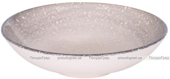 """Набір 6 супових тарілок IPEC Monaco """"Космос"""" Ø19см кам'яна кераміка"""