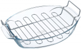 Форма для випічки з решіткою Pyrex Irresistible 39х27х7см, жароміцне скло
