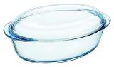 Кастрюля овальная Pyrex Essentials 3л, жаропрочное стекло
