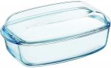 Форма для запекания (утятница) Pyrex Essentials 37х22см (6.5л), жаропрочное стекло