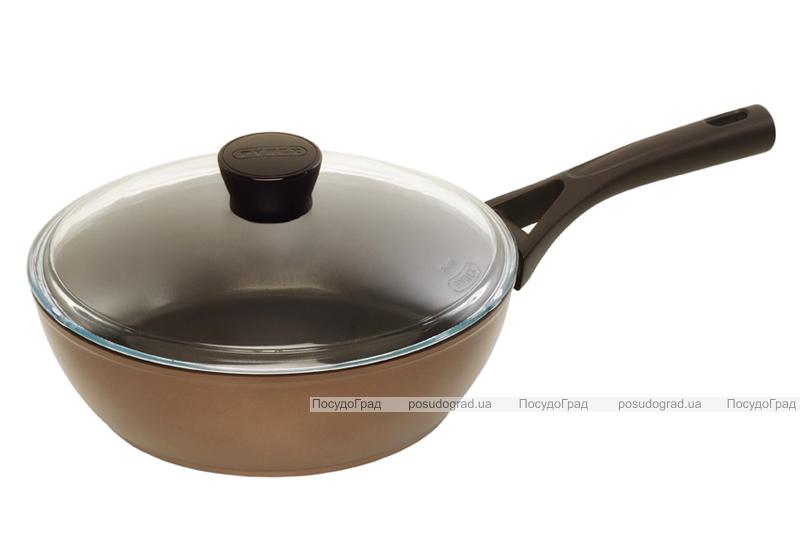 Сковорода-сотейник PYREX Gusto+ Ø24см с антипригарным покрытием