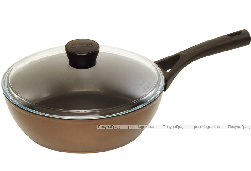Сковорода-сотейник PYREX Gusto+ Ø26см с антипригарным покрытием