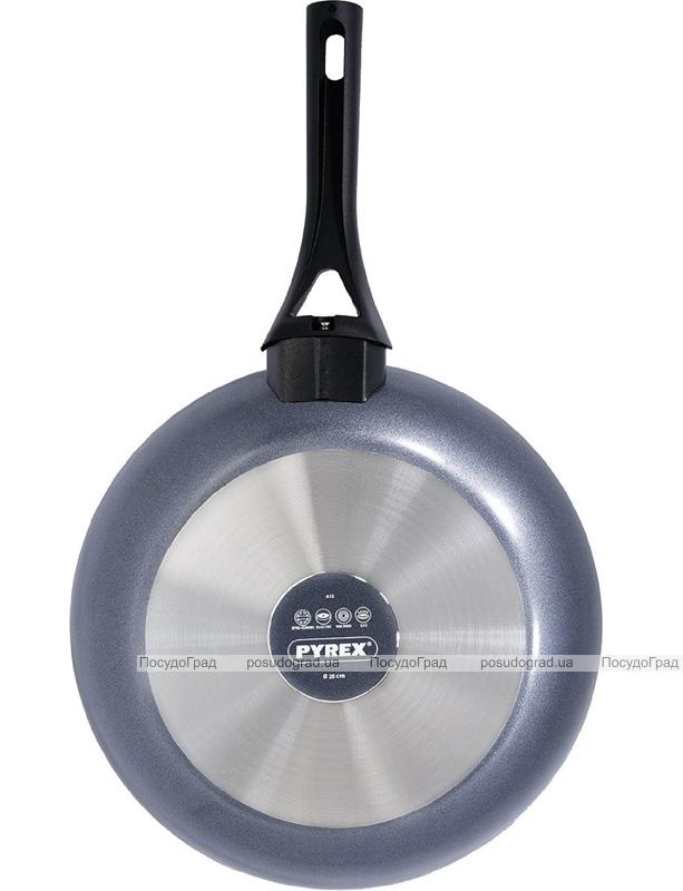Сковорода PYREX Gusto Ø28см с антипригарным покрытием