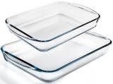 Набір форм для випічки Pyrex Essentials 35х23см, 40х27см, жароміцне скло
