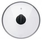Крышка Rondell Weller для кухонной посуды Ø24см (жаропрочное стекло)