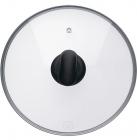 Крышка Rondell Weller для кухонной посуды Ø26см (жаропрочное стекло)