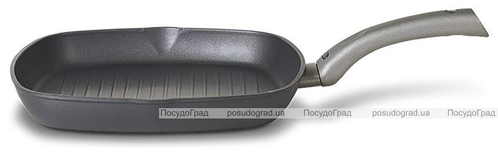 Сковорода-гриль TVS Mito Titanio Induction 28х28см з титановим антипригарним покриттям