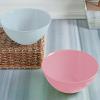 Салатник Bager пластиковый 1500мл, розовый