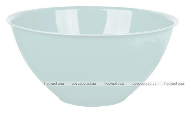 Салатник Bager пластиковый 1500мл, голубой