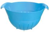Дуршлаг Bager пластиковый 4500мл, голубой