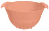 Дуршлаг Bager пластиковый 4500мл, розовый