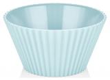 Салатник Bager пластиковий 2000мл, блакитний