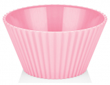 Салатник Bager пластиковый 2000мл, розовый