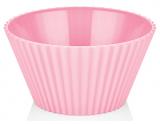 Салатник Bager пластиковий 2000мл, рожевий