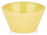 Салатник Bager пластиковий 2000мл, жовтий
