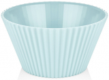 Салатник Bager пластиковый 4000мл, голубой