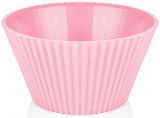 Салатник Bager пластиковий 4000мл, рожевий