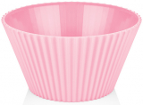 Салатник Bager пластиковый 4000мл, розовый