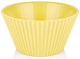 Салатник Bager пластиковий 4000мл, жовтий