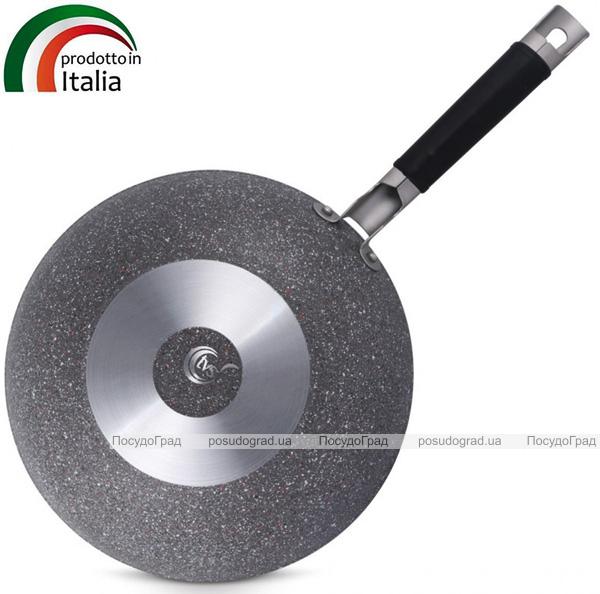 Сковорода-вок TVS Grand Gurmet Ø28см с антипригарным покрытием на основе минералов