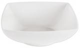 Набір 6 салатників IPEC London 17х17см кам'яна кераміка, білі
