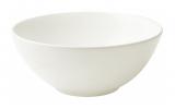 Набор 6 салатников IPEC Monaco Ø16см каменная керамика, белые