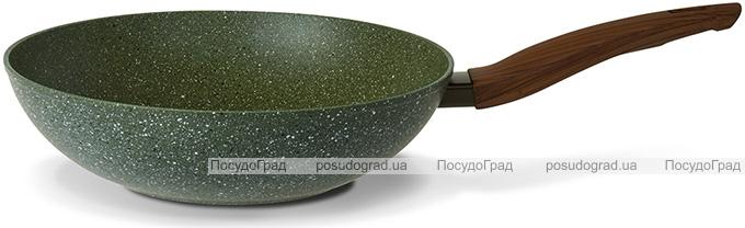 Сковорода-вок TVS Natura Induction Ø28см с экологичным антипригарным покрытием