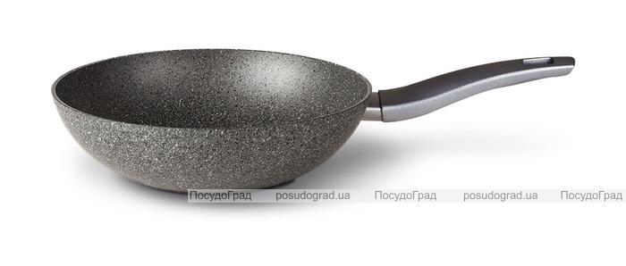 Сковорода-вок TVS Mineralia Induction Ø28см с антипригарным покрытием Quarzotek Pro