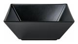 Набір 6 салатників IPEC Tokyo 13х13см кам'яна кераміка, чорний