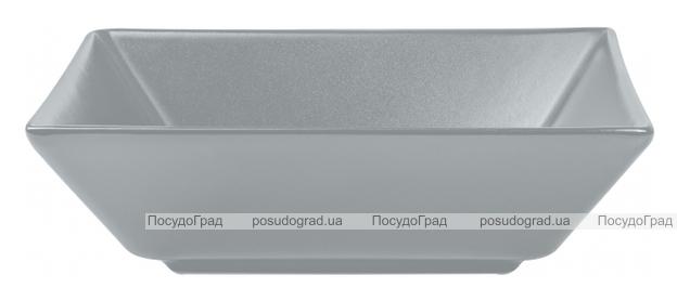 Набор 6 салатников IPEC Tokyo 17.5х17.5см каменная керамика, серый