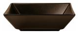 Набор 6 салатников IPEC Tokyo 17.5х17.5см каменная керамика, коричневый