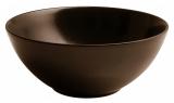 Набор 6 салатников IPEC Monaco Ø22см каменная керамика, коричневые