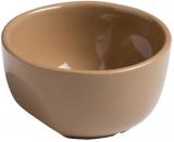Кокотница керамическая Pyrex Curves Ø7см, коричневая