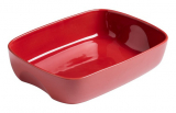 Форма для выпечки керамическая Pyrex Curves 23х17см, красная
