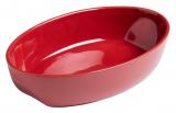 Форма для выпечки керамическая Pyrex Curves овальная 28х18см, красная