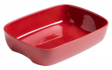 Форма для выпечки керамическая Pyrex Curves 28х20см, красная