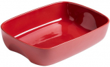 Форма для выпечки керамическая Pyrex Curves 33х23см, красная